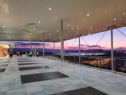 Top Terrace at sunset