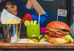 Eat & Drink, Australian style Veggie Burger
