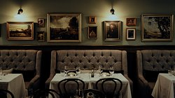 Booth seated area main dining room