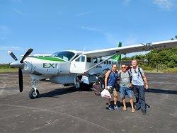 Aeropuerto de Barcelos . Amazonas Rio Negro  Expedicion Agosto 2019 . Archipielago de Mariua rio Negro amazonas . Lo Peix ecoturismo fluvial