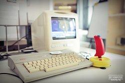 Atari 65xe w Muzeum Gry i Komputery Minionej Ery