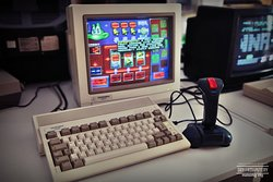 Amiga 600 w Muzeum Gry i Komputery Minionej Ery