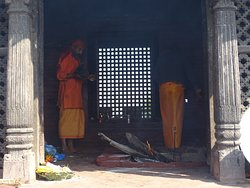 Holy Agni in the cave
