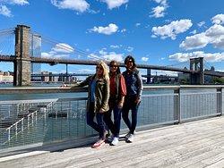 The Brooklyn Bridge!