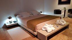 Schlafbereich im Unique Room
