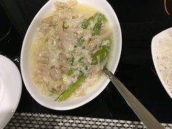 Ema Datsi, Bhutanese local cuisine served at Hotel Alem