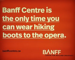 Sums up Banff