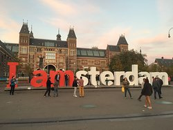 Rest in Peace iAmsterdam sign
