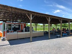 Outdoor dining, with great views, in Schoharie, NY