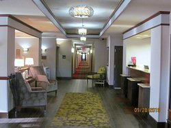 Front desk/lobby area.