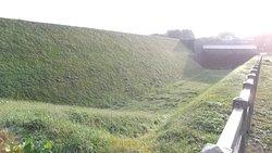 霞城公園の城郭