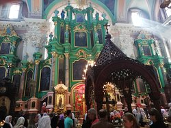 Vilnius, Lituania, Iglesia Ortodoxa Rusa del Espíritu Santo.