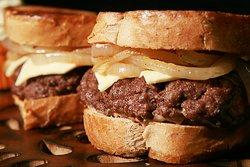 Delicious hand pressed burger patties!