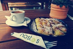 nostos breakfast/snacks