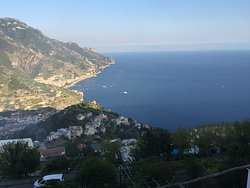 The view from Mamma Agata's cooking school