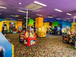 Enjoy our award winning arcade.