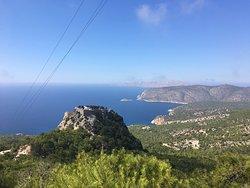 Prachtig landschap en schitterende vergezichten