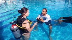 This is Eric our scuba instructor. He made all the difference!