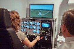 Time in our Certified AATD Flight Simulator