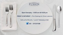 Fusion Business Hours!