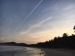 Napsan Beach of early morning