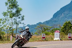 Thailand has lovely roads for motorbikes