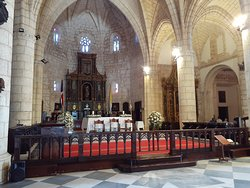 Кафедральный собор Санто-Доминго,  алтарь.