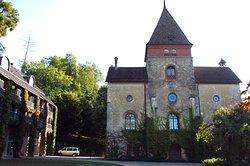 Teil der ehemaligen Klosterkirche - heute Haupthaus