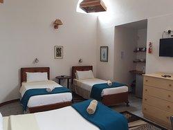 Boer & Brit Self Catering triple unit bedroom