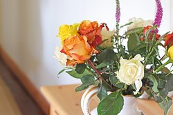 Flowers in Jasmine Suite .