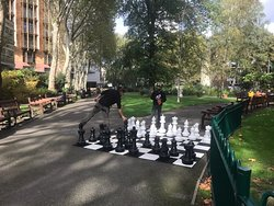 Urban chess - pretty cool!