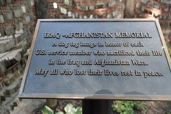 Story behind the touching Iraq-Afghanistan Memorial