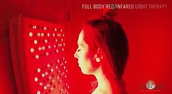 Collagen red light therapy for anti aging and cellular repair