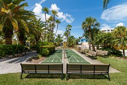 Shuffleboard courts for your afternoon enjoyment