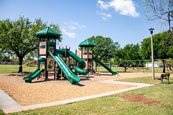 Playground Area in C. W. Gill Park in Abilene Texas