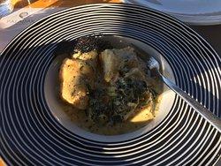 grouper fillet fricassee