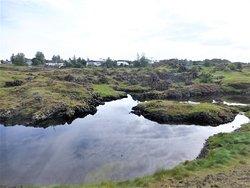 Volcanic soil everywhere