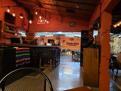 Restaurante santo maiz en la nader atras de h.ayuntamiento de benito juarez