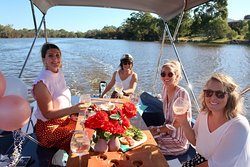 Girls day out!  Pack your picnic and head out on the river for some girly time. According to science, it should be done twice weekly ;)