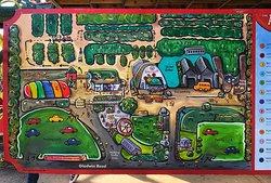 Applebarn farm map - Two parkings!