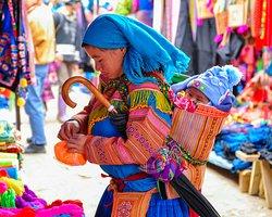 Northern Vietnam- Sapa market