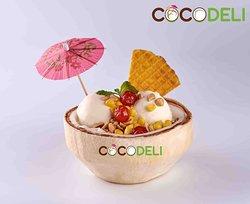 Coconut Ice Cream (2 scoop)