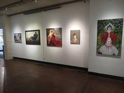 Brushstrokes exhibit