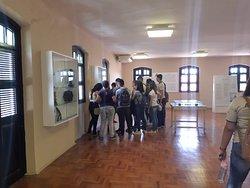Alunos visitando o Museu Arthur Ramos