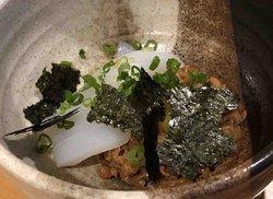 ika-natto - squid with natto