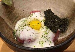 maguro-no-yamakake (tuna with mountain yam)