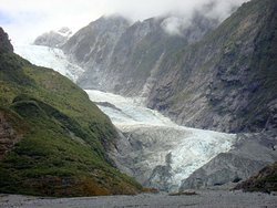Gletscherzunge noch weit unten (2009)