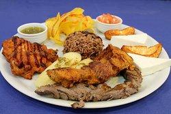 Rico Plato De La Cocina Centro Americana