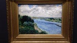 Auguste Renoir - Chalands sur la Seine