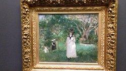 Berthe Morisot - Chasse aux papillons